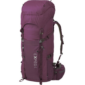 Exped W's Explore 60 Backpack dark violet